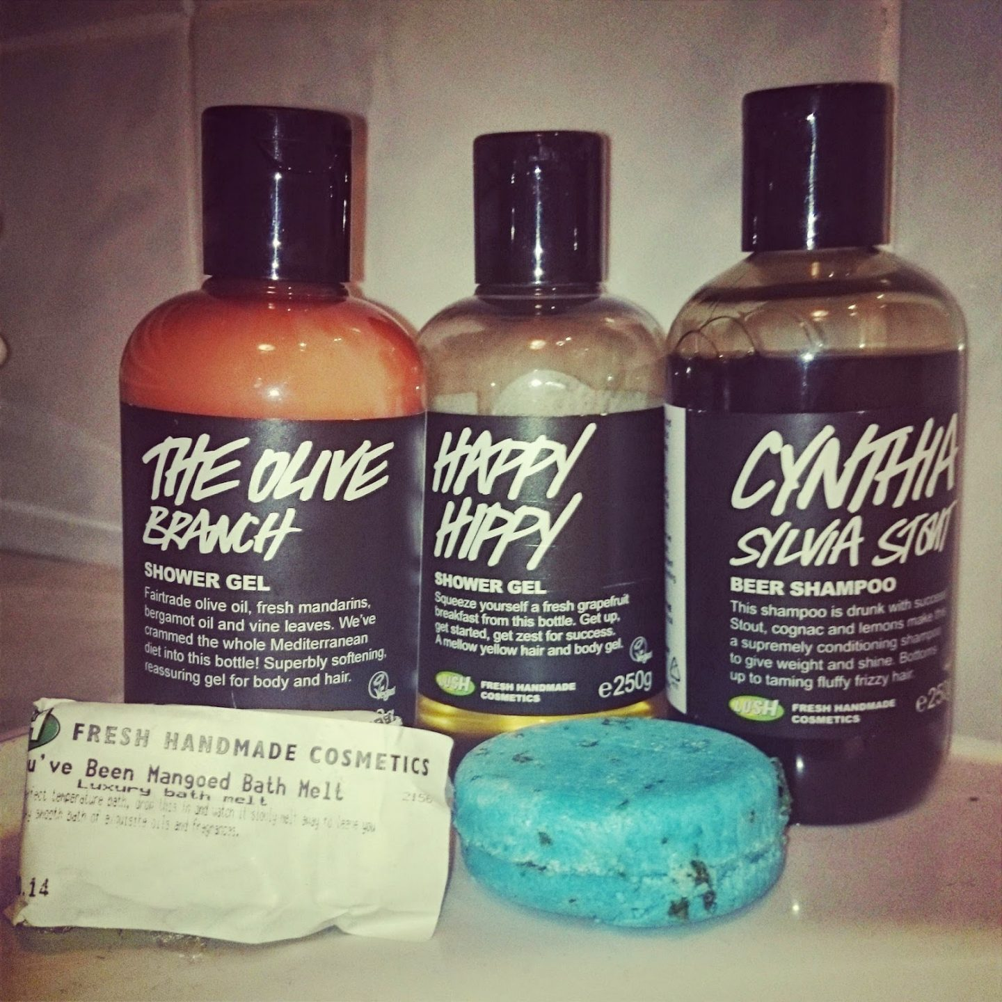 Trials of Green Beauty: The Olive Branch by Lush