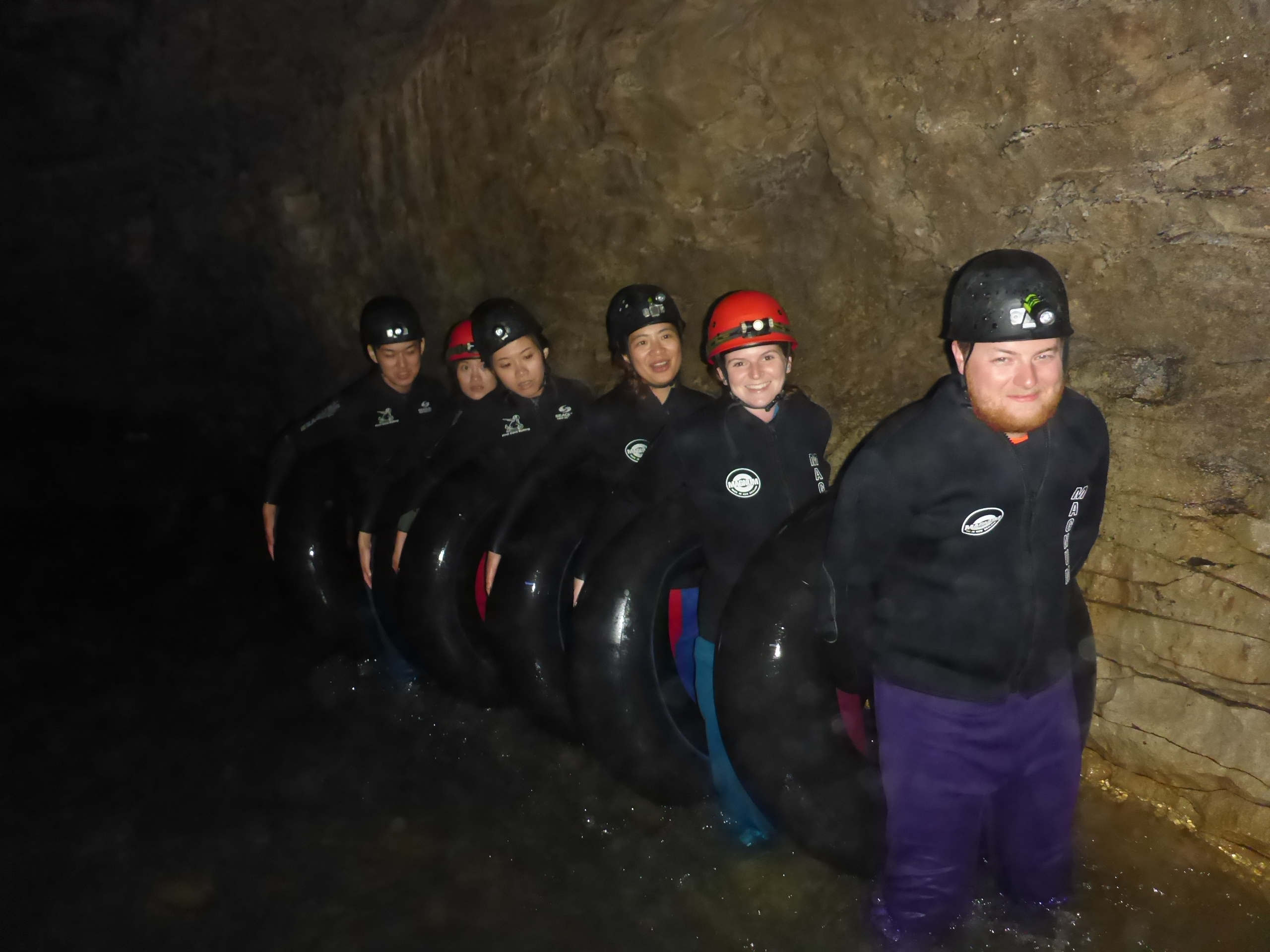 group-of-people-in-glow-worm-caves-in-new-zealand