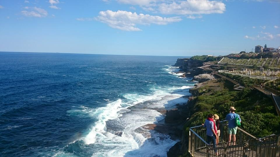 view-of-sea-and-bondi-coogee-coastal-walk-australia